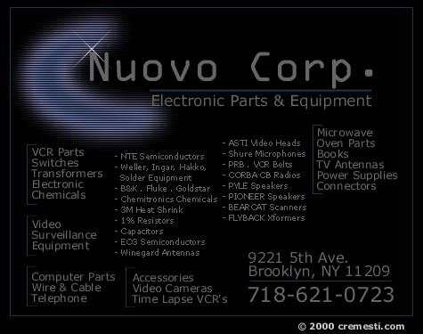 Nuovo Corp  - by cremesti com